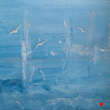 'All at Sea' original painting by Julie Clark